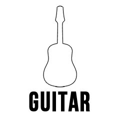 Custom Guitar Stickers skin