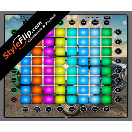 Burnout  Novation Launchpad Pro