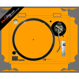 Solid Orange Technics SL-1200 MK2