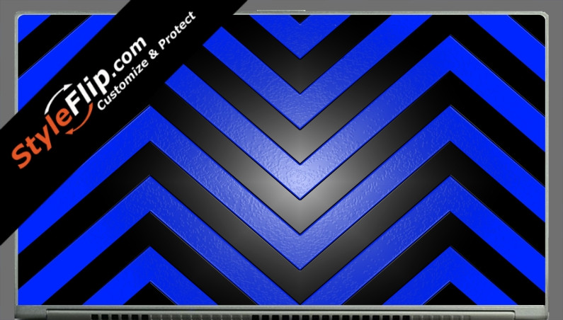 Black & Blue Chevron Acer Aspire S7 13.3""