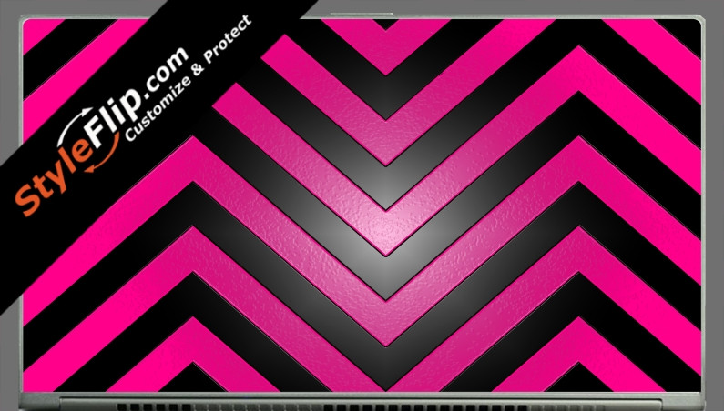 Black & Hot Pink Chevron Acer Aspire S7 13.3""