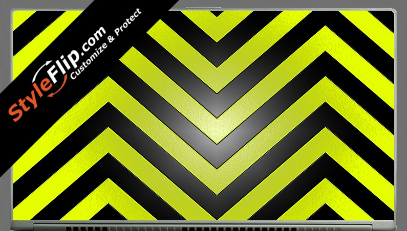 Black & Yellow Chevron Acer Aspire S7 13.3""