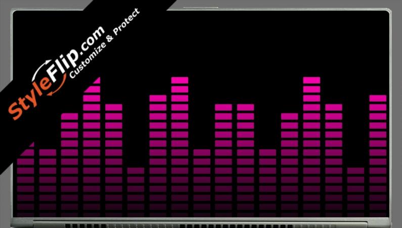 """Pink Equalizer Acer Aspire S7 13.3"""""""