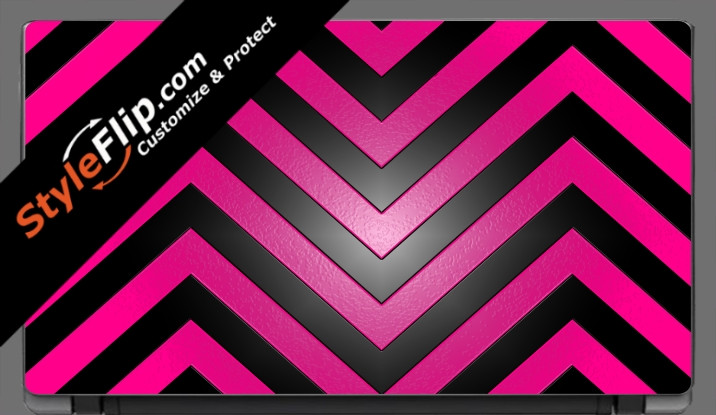 Black & Hot Pink Chevron Acer Aspire V5 11.6""