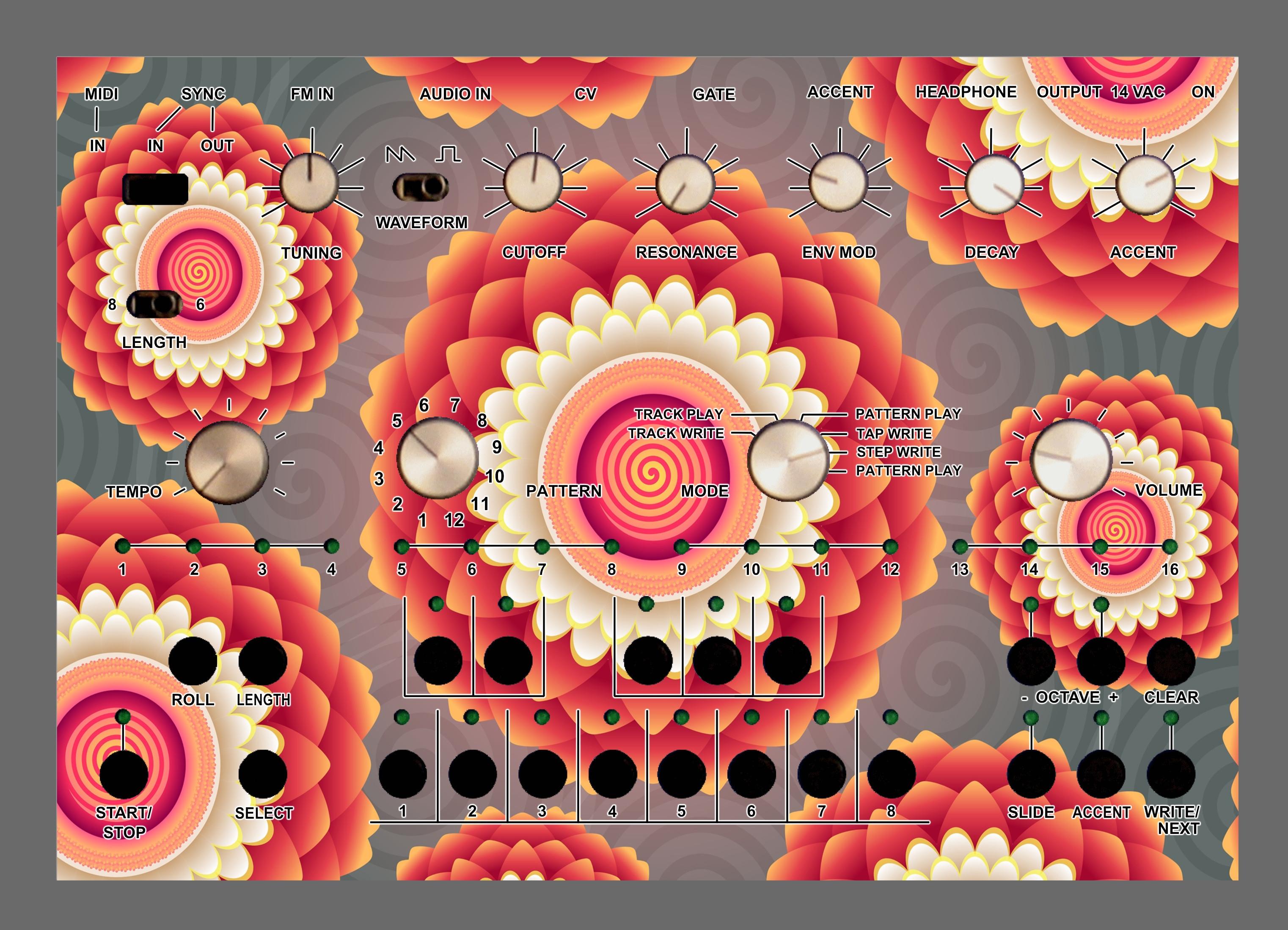 Hypnotic Acidlab Bassline 2