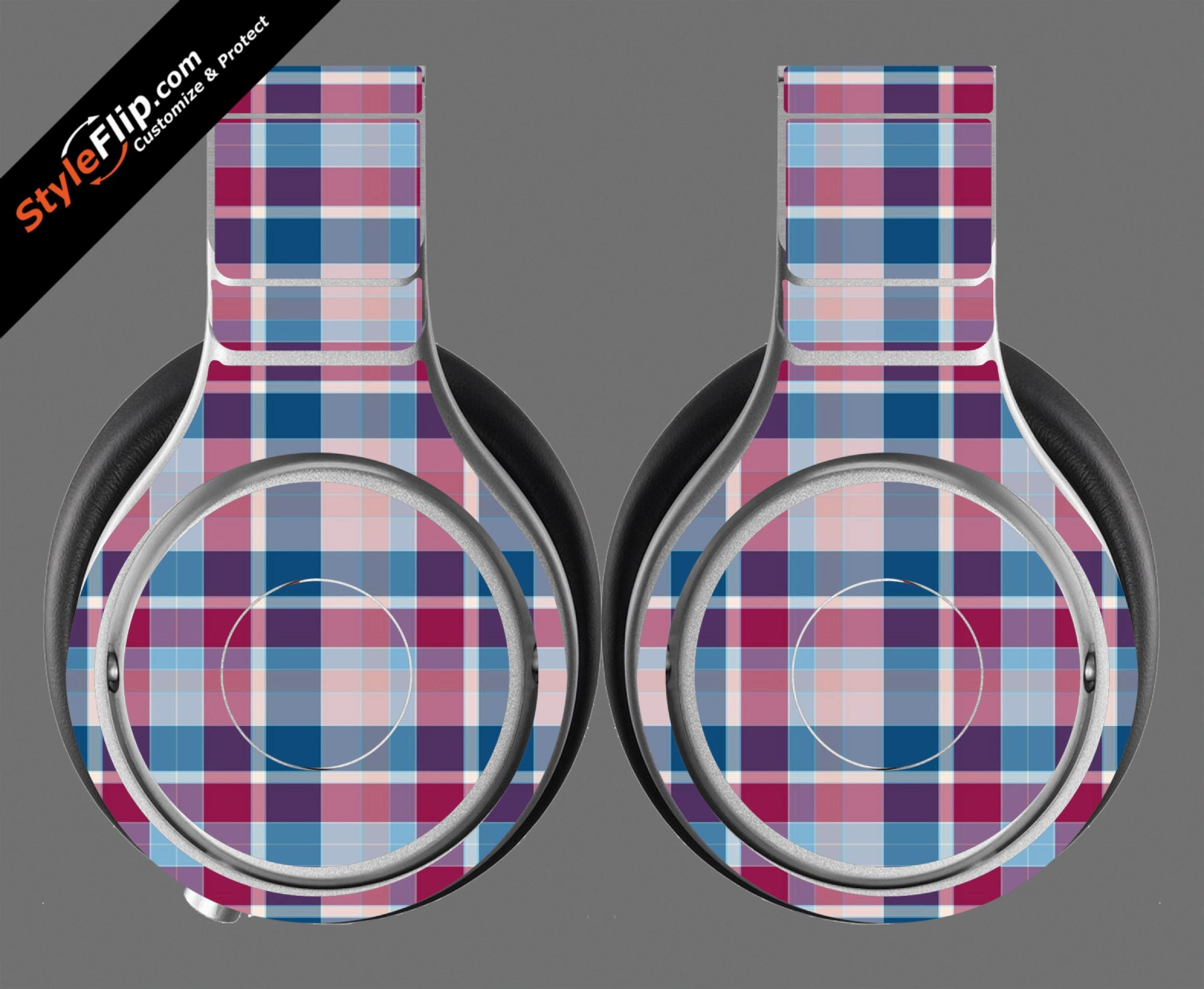 Classic Plaid  Beats By Dr. Dre Beats Pro Model