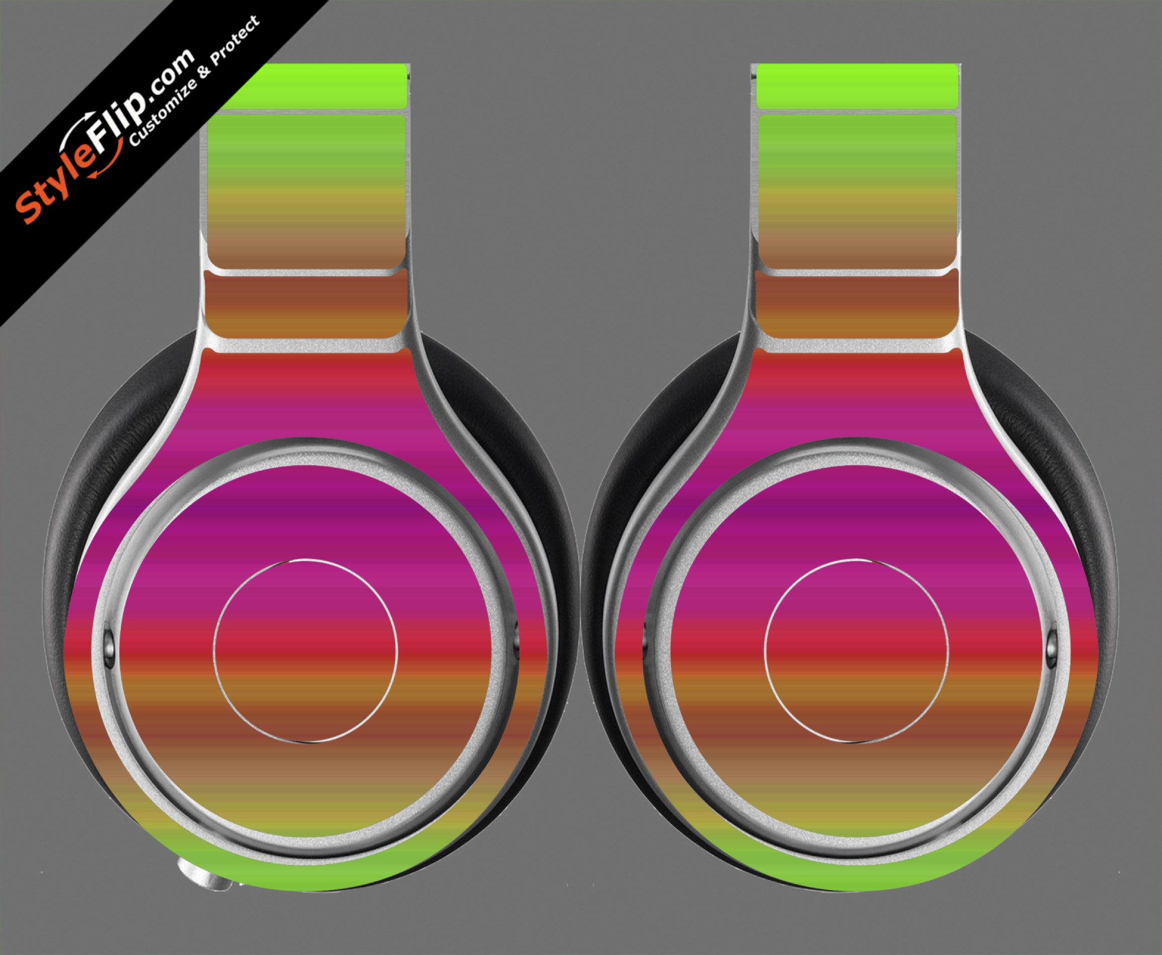 Rainbow Beats By Dr. Dre Beats Pro Model