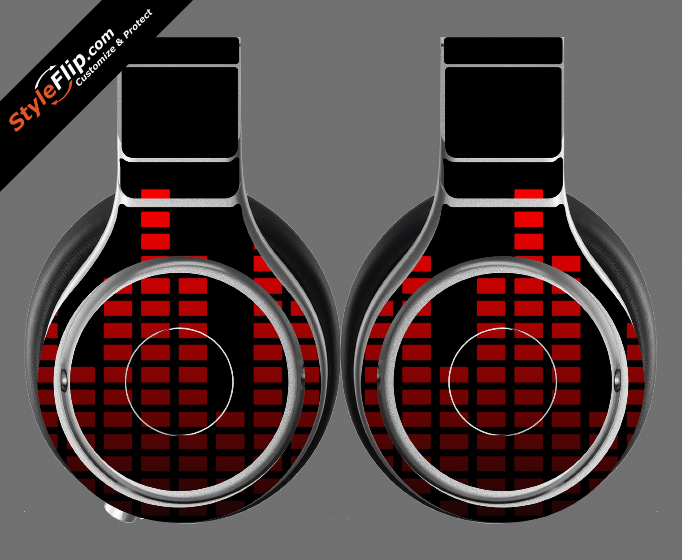 Red Equalizer Beats By Dr. Dre Beats Pro Model