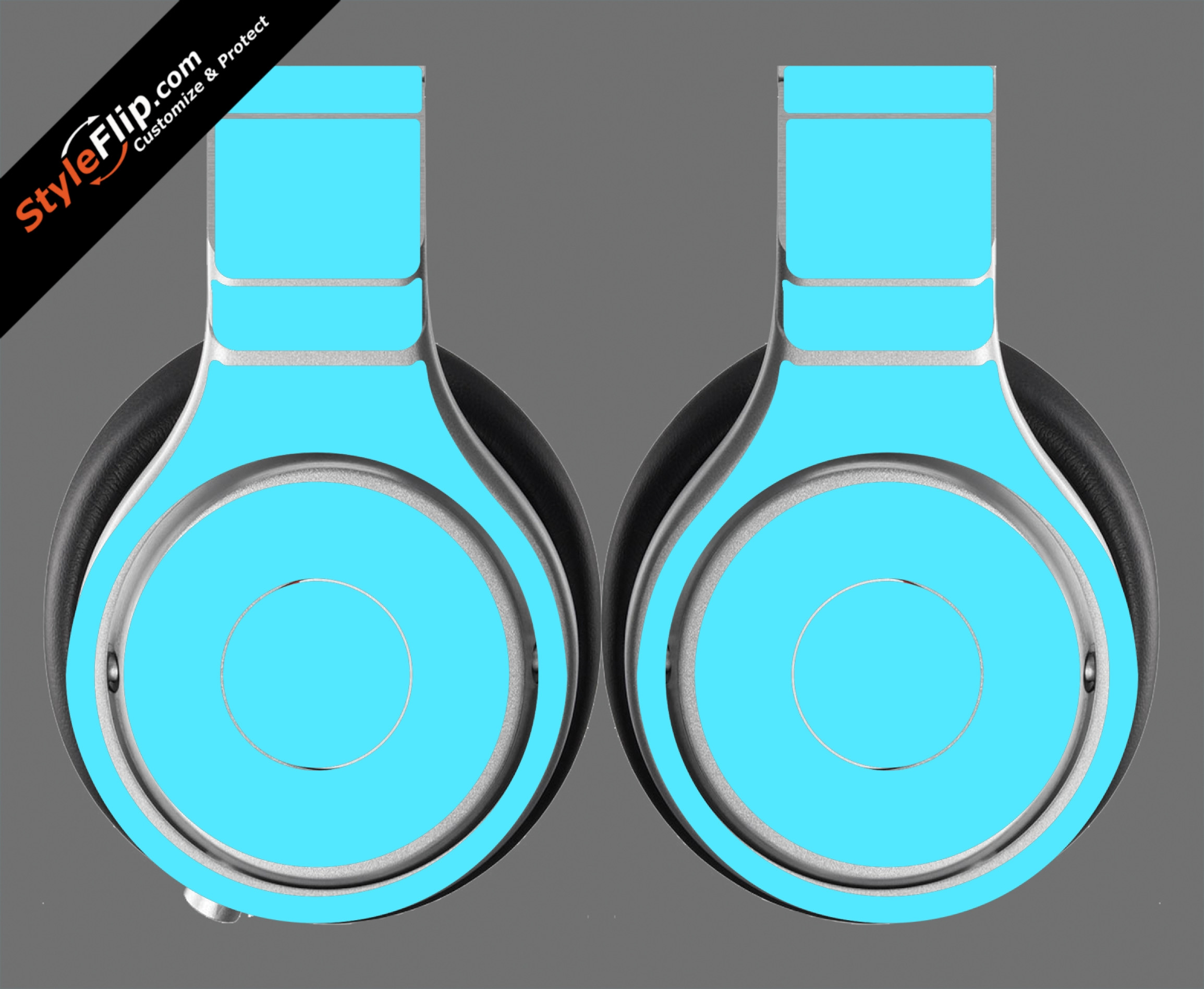 Solid Blue Beats By Dr. Dre Beats Pro Model