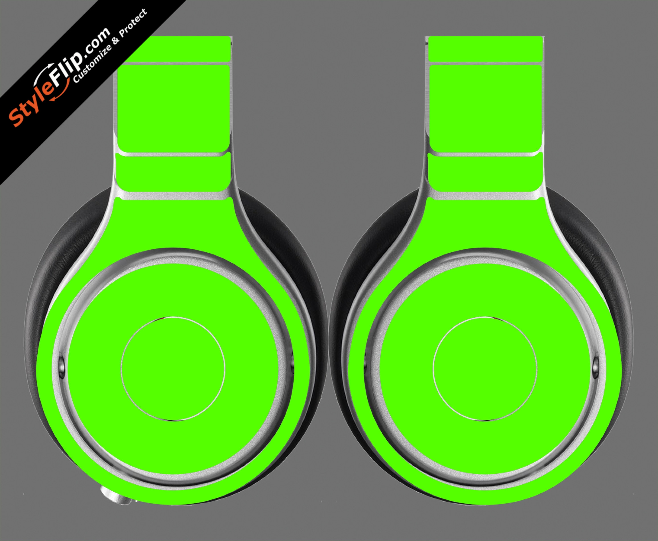Solid Green Beats By Dr. Dre Beats Pro Model