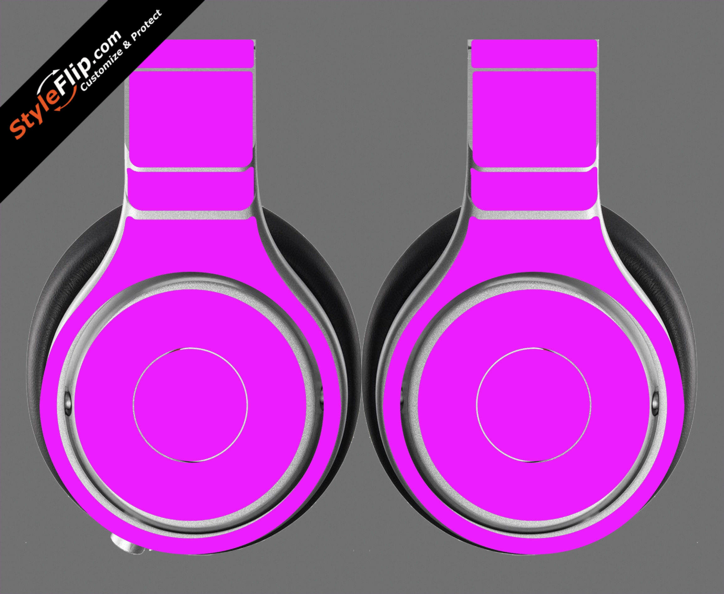 Solid Pink Beats By Dr. Dre Beats Pro Model