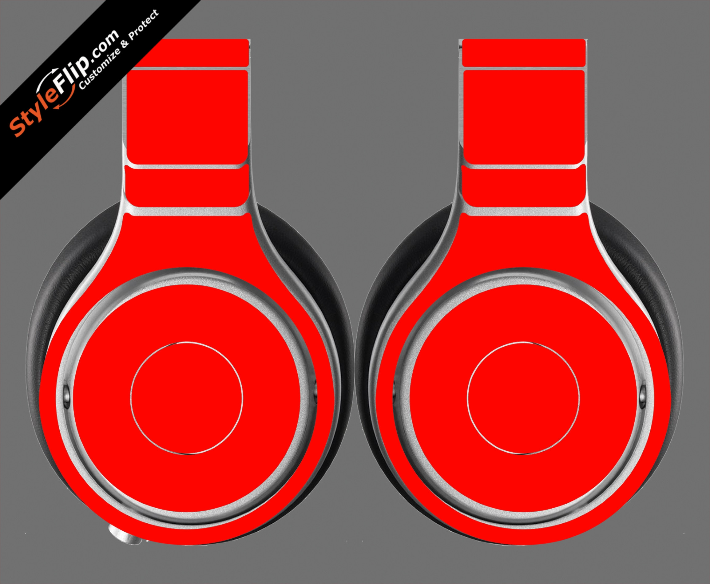 Solid Red Beats By Dr. Dre Beats Pro Model