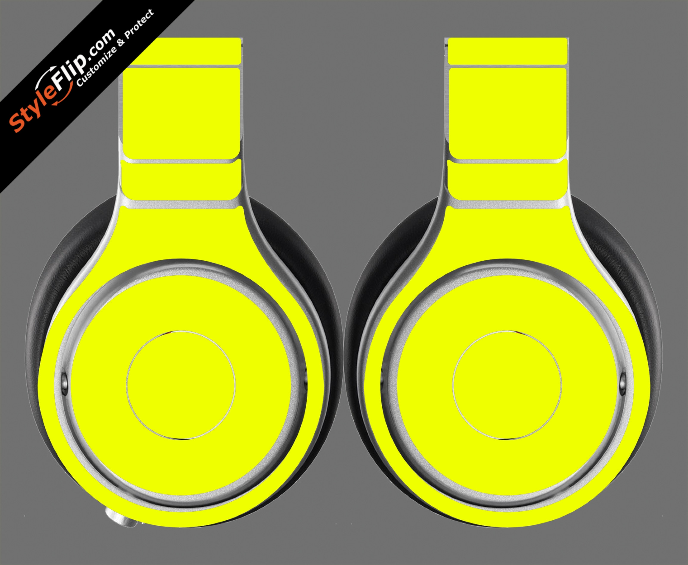 Solid Yellow Beats By Dr. Dre Beats Pro Model