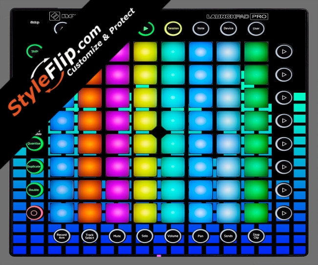 Blue Equalizer  Novation Launchpad Pro