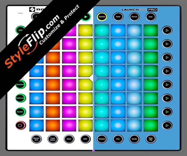 Blue & White Novation Launchpad Pro