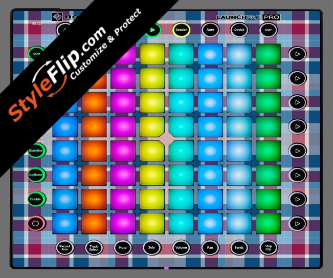 Classic Plaid  Novation Launchpad Pro
