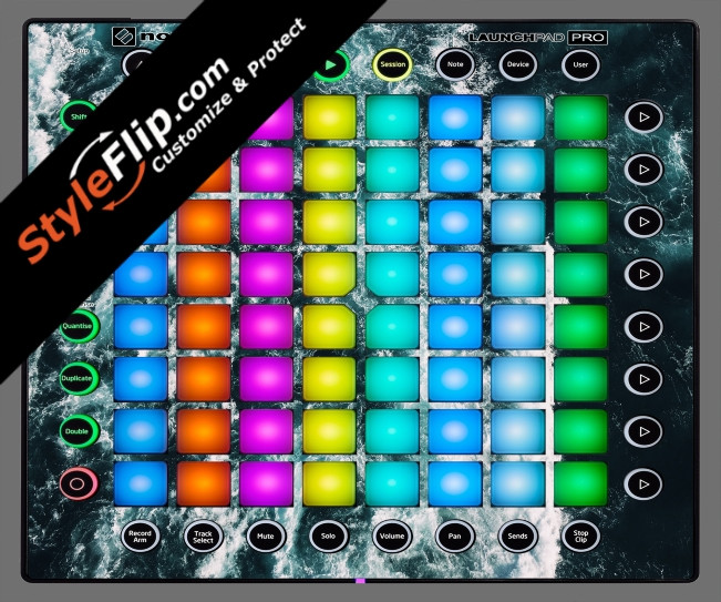 Deep Blue  Novation Launchpad Pro