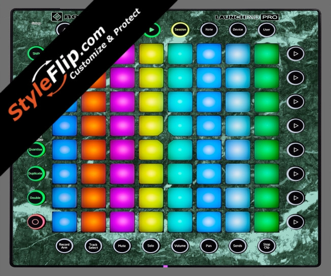 Green Marble Novation Launchpad Pro