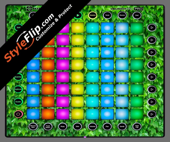 Greenery  Novation Launchpad Pro
