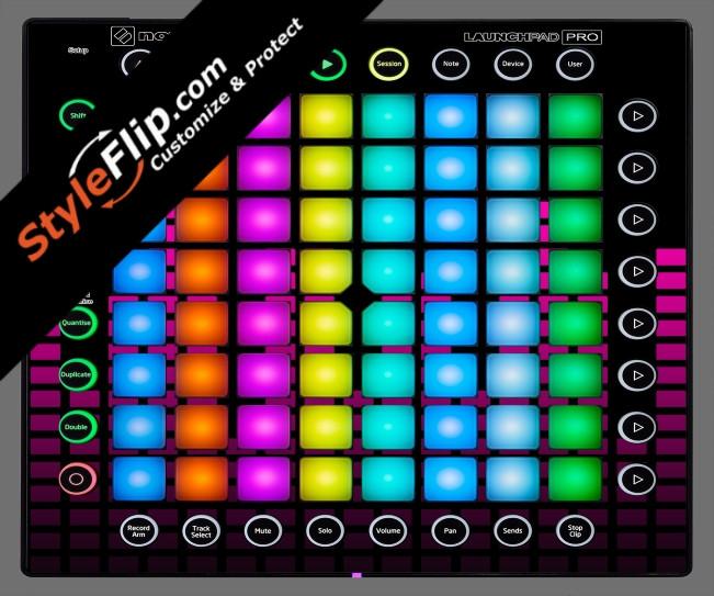 Pink Equalizer Novation Launchpad Pro
