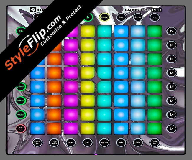 Purple Haze Novation Launchpad Pro