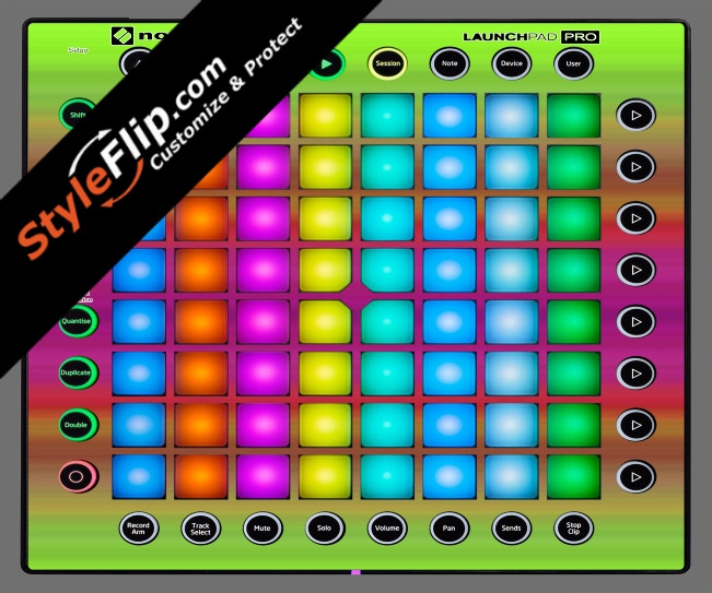 Rainbow Novation Launchpad Pro