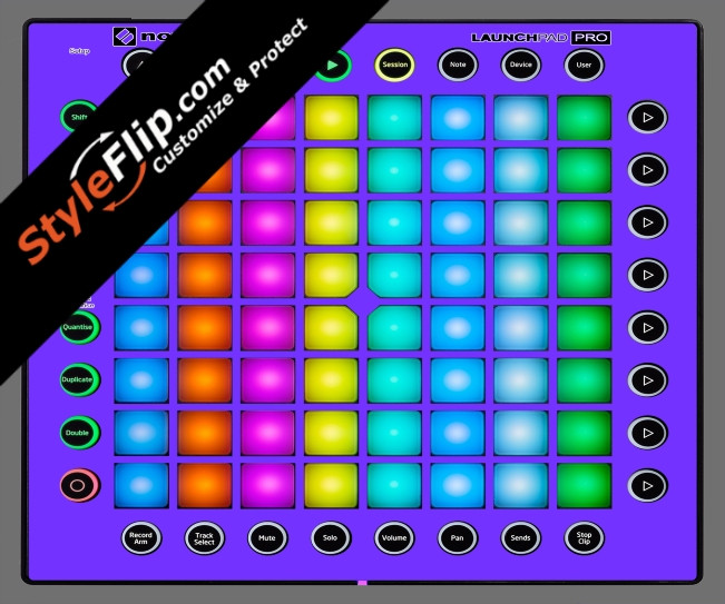 Solid Purple Novation Launchpad Pro