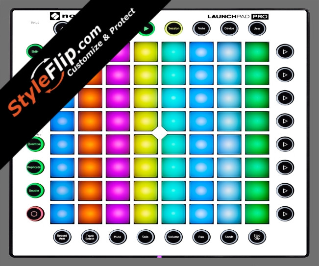 Solid White Novation Launchpad Pro