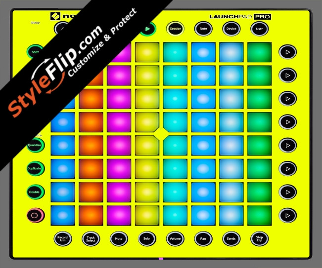 Solid Yellow Novation Launchpad Pro