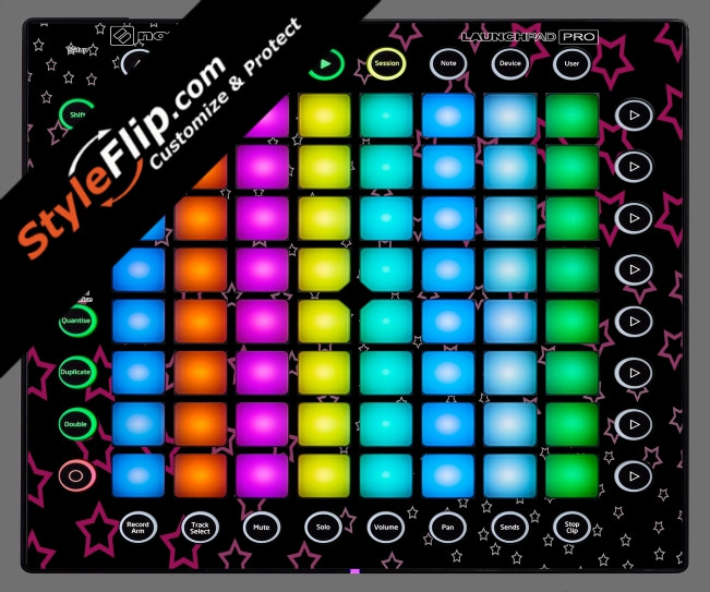 Starry Novation Launchpad Pro