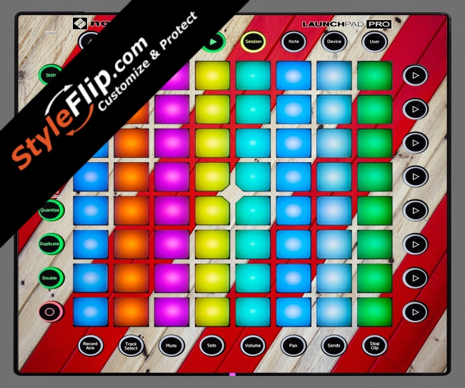 Striped Wood  Novation Launchpad Pro