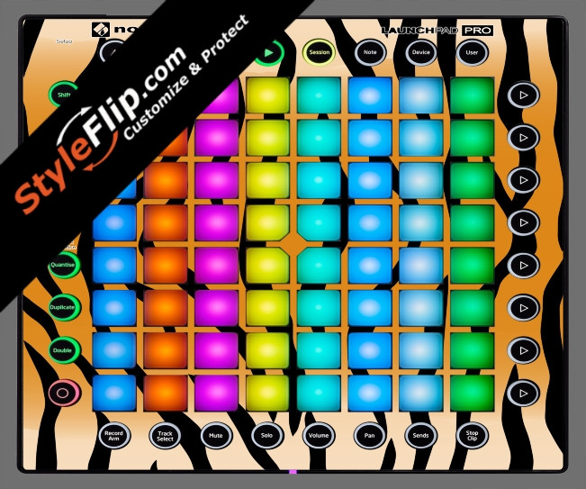 Tiger Stripes Novation Launchpad Pro