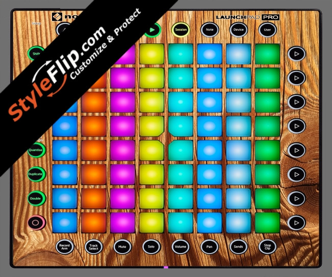Tree Rings  Novation Launchpad Pro