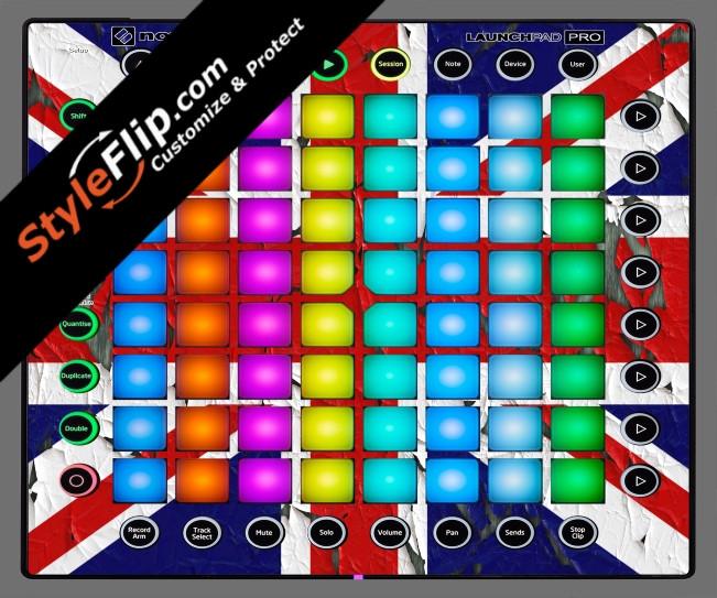 United Kingdom Flag 2  Novation Launchpad Pro