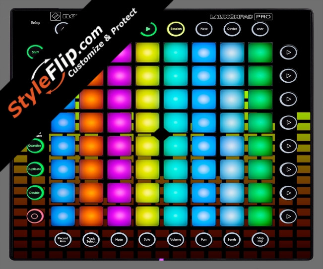 Warm Equalizer Novation Launchpad Pro