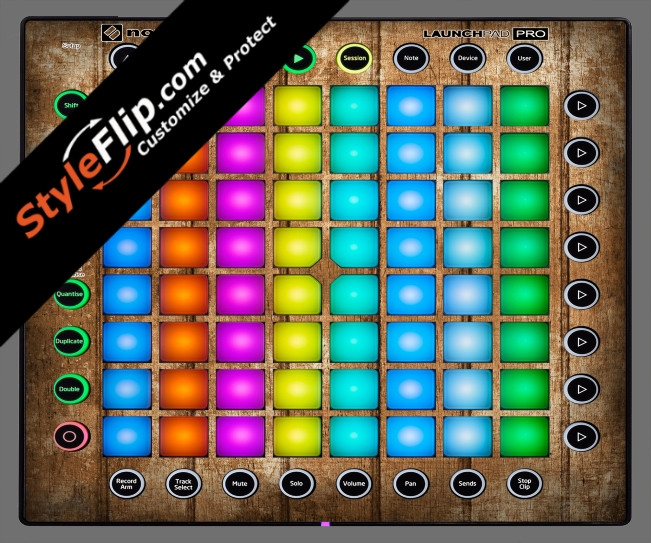 Wood Panels  Novation Launchpad Pro