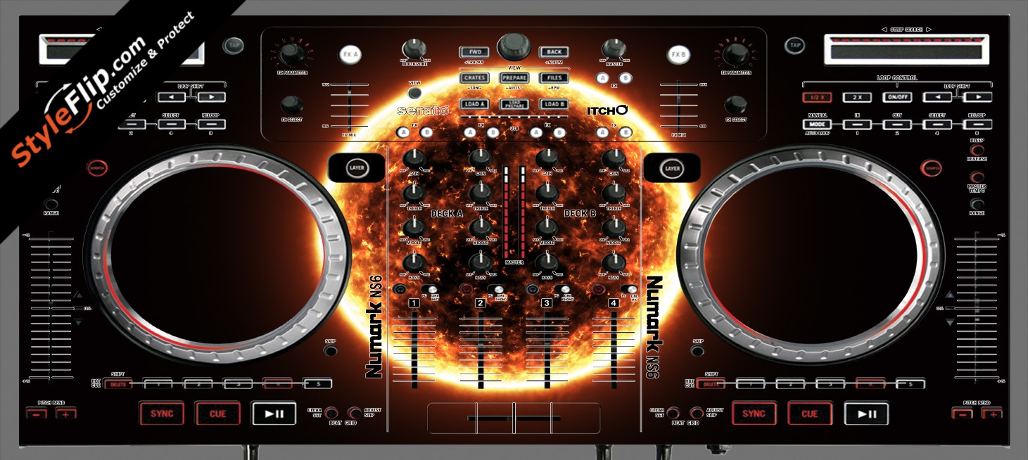 Black Hole Sun  Numark NS-6