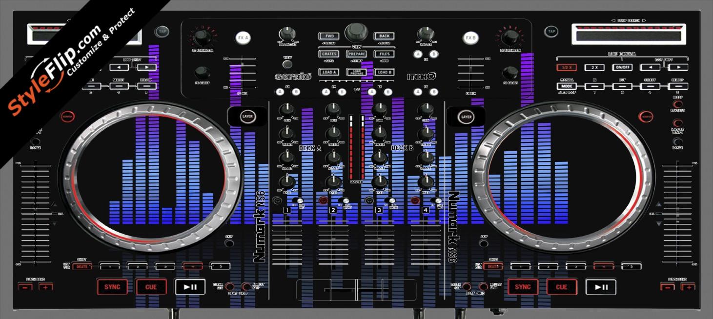 Blue Tones Numark NS-6