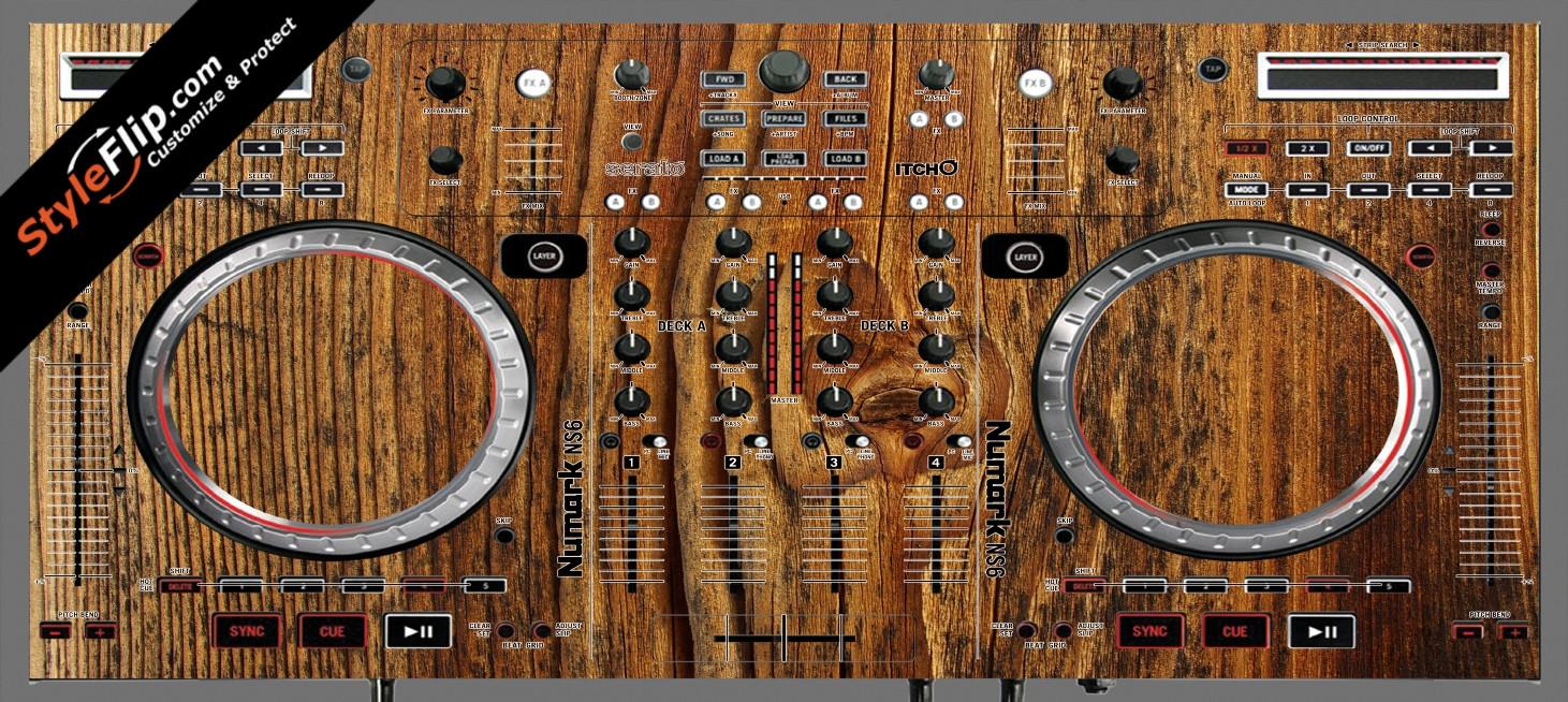 Classic Wood  Numark NS-6