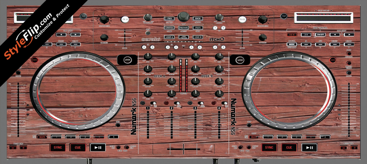 Old Wood  Numark NS-6