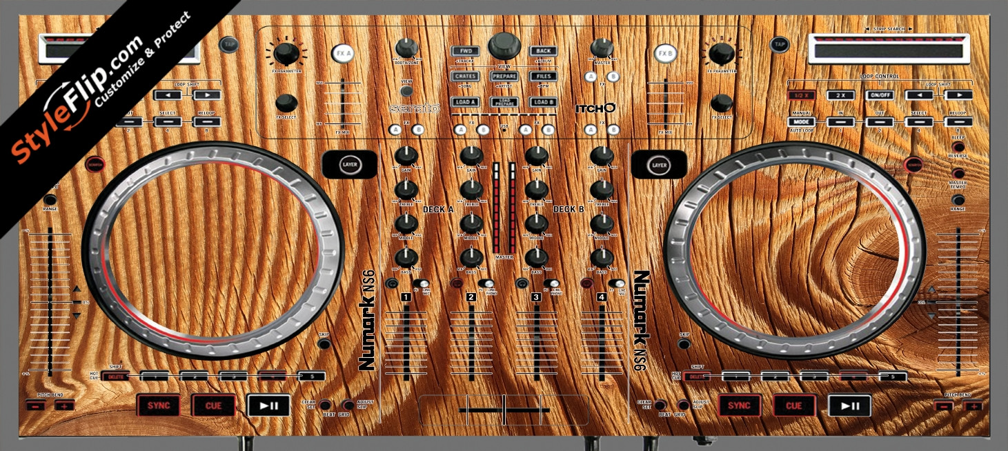 Tree Rings  Numark NS-6