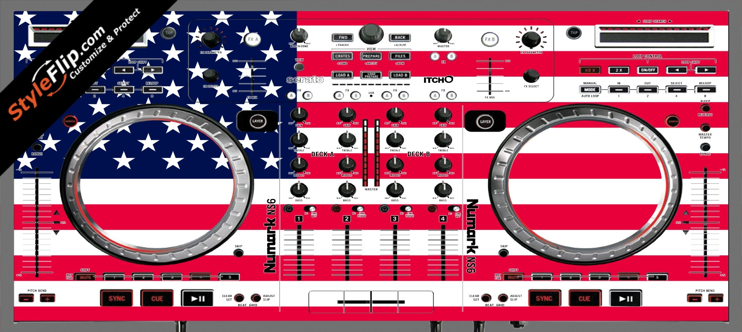 United States Of America Numark NS-6