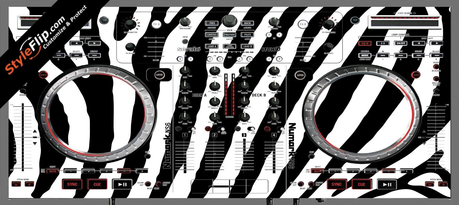 Zebra Print Numark NS-6