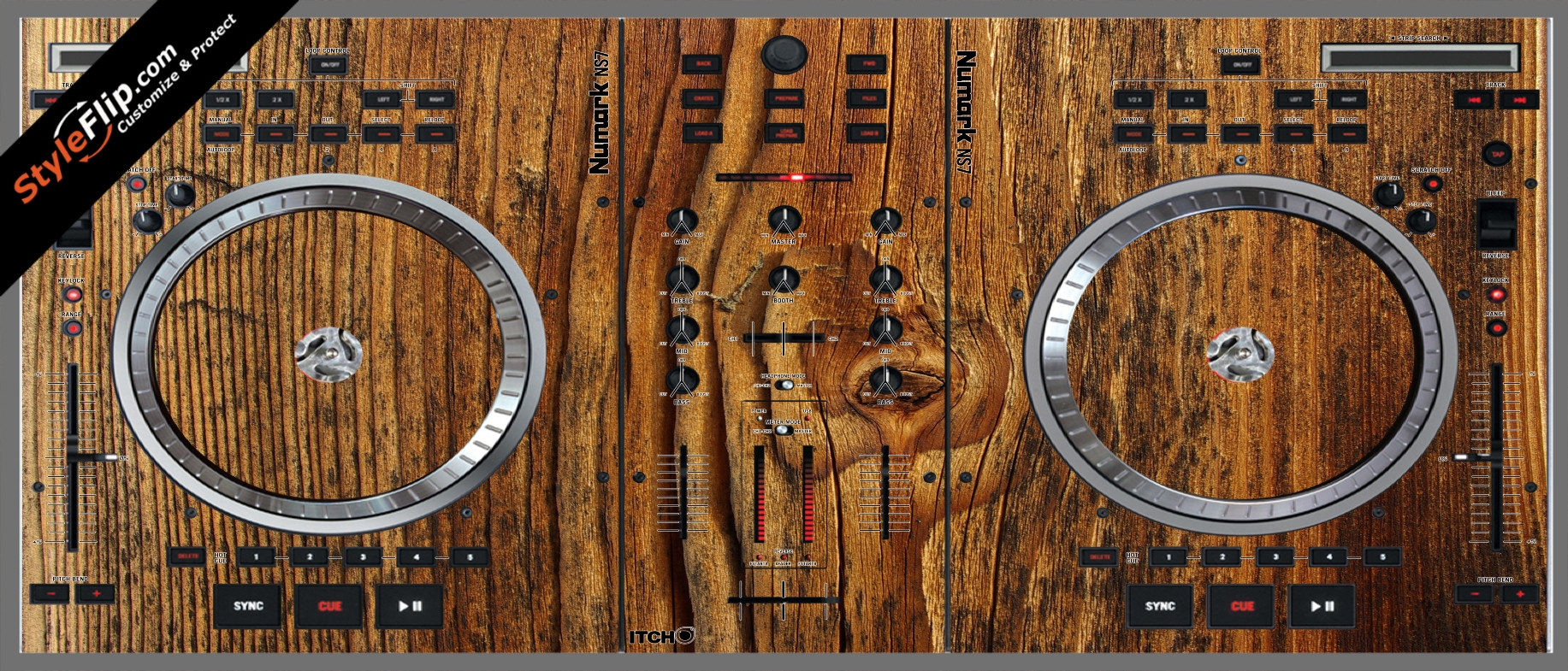 Classic Wood  Numark NS-7