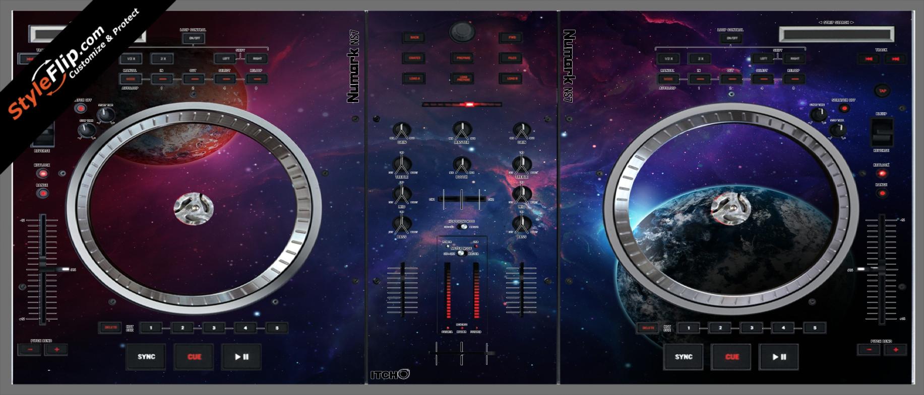 Planetary  Numark NS-7