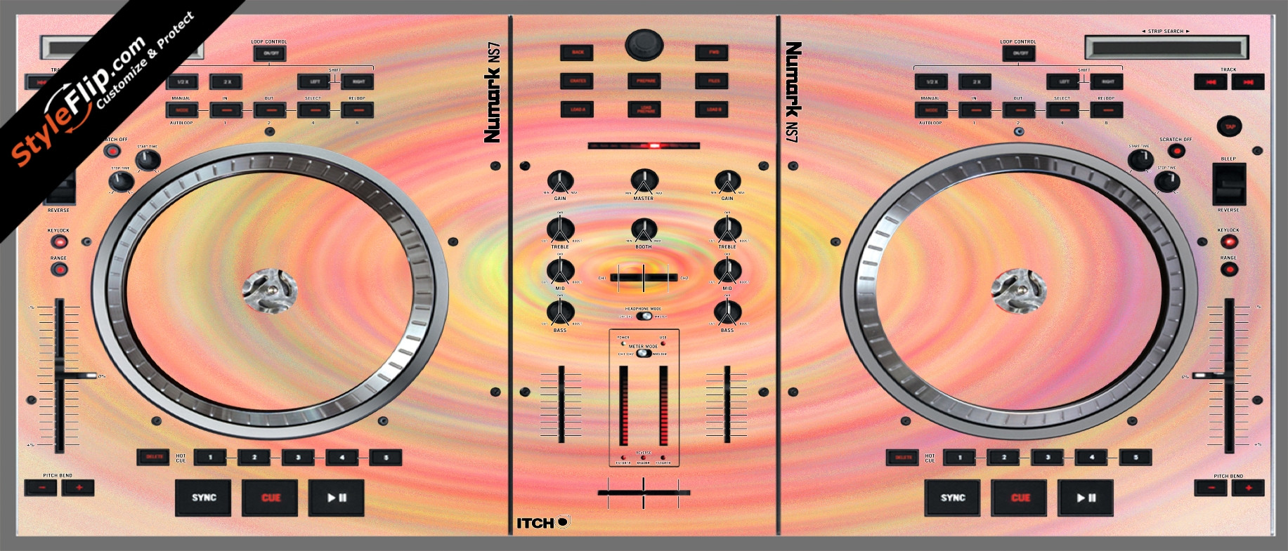 Spin Numark NS-7