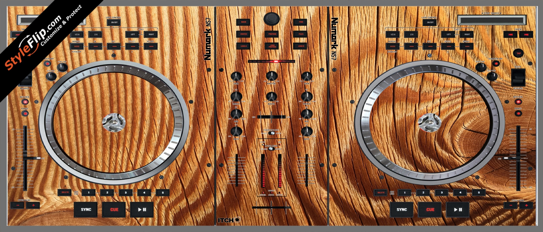 Tree Rings  Numark NS-7