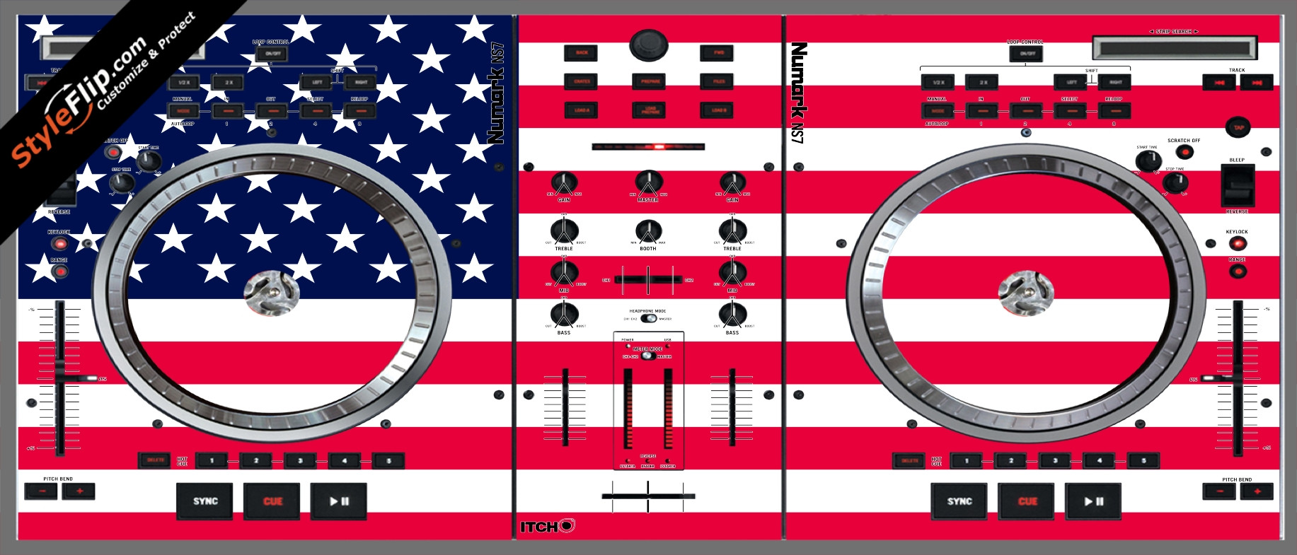 United States Of America Numark NS-7