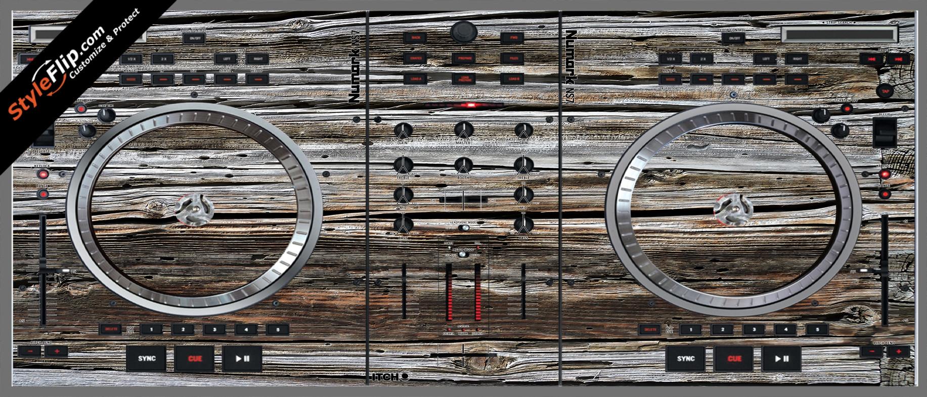 Weathered Wood  Numark NS-7