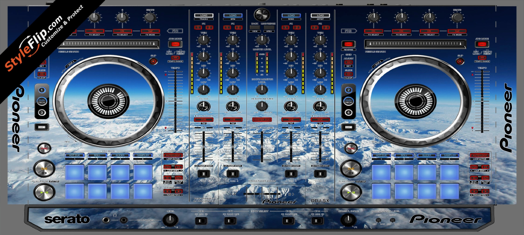 Above The Clouds  Pioneer DDJ-SX